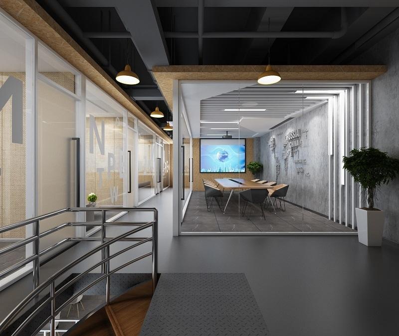 广告公司办公室装修图