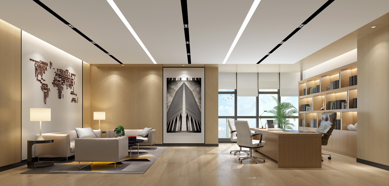 重庆办公室装修设计效果图