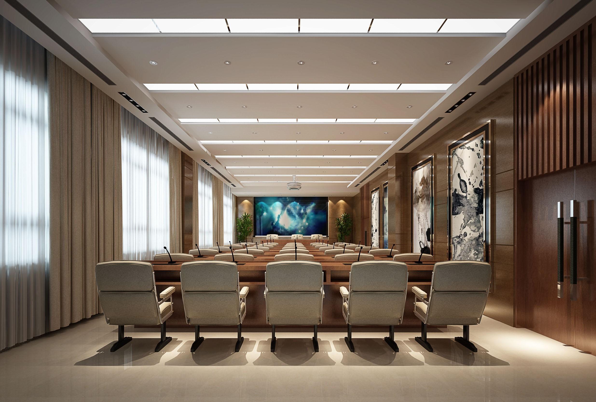 重庆办公楼装修整套效果图
