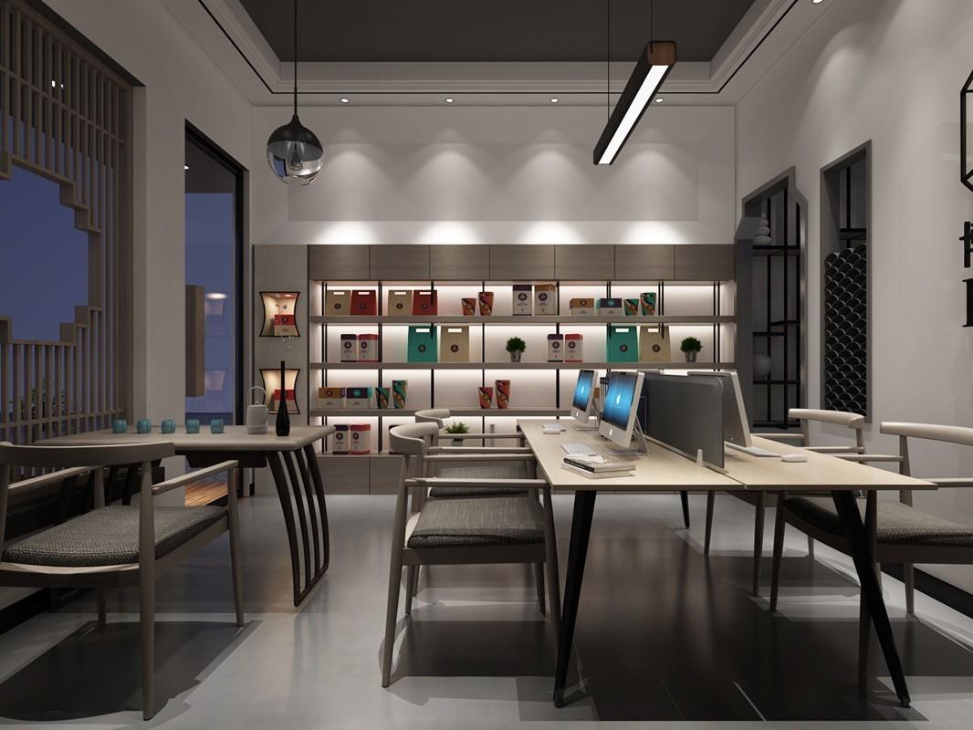 重庆小办公室装修案例效果图