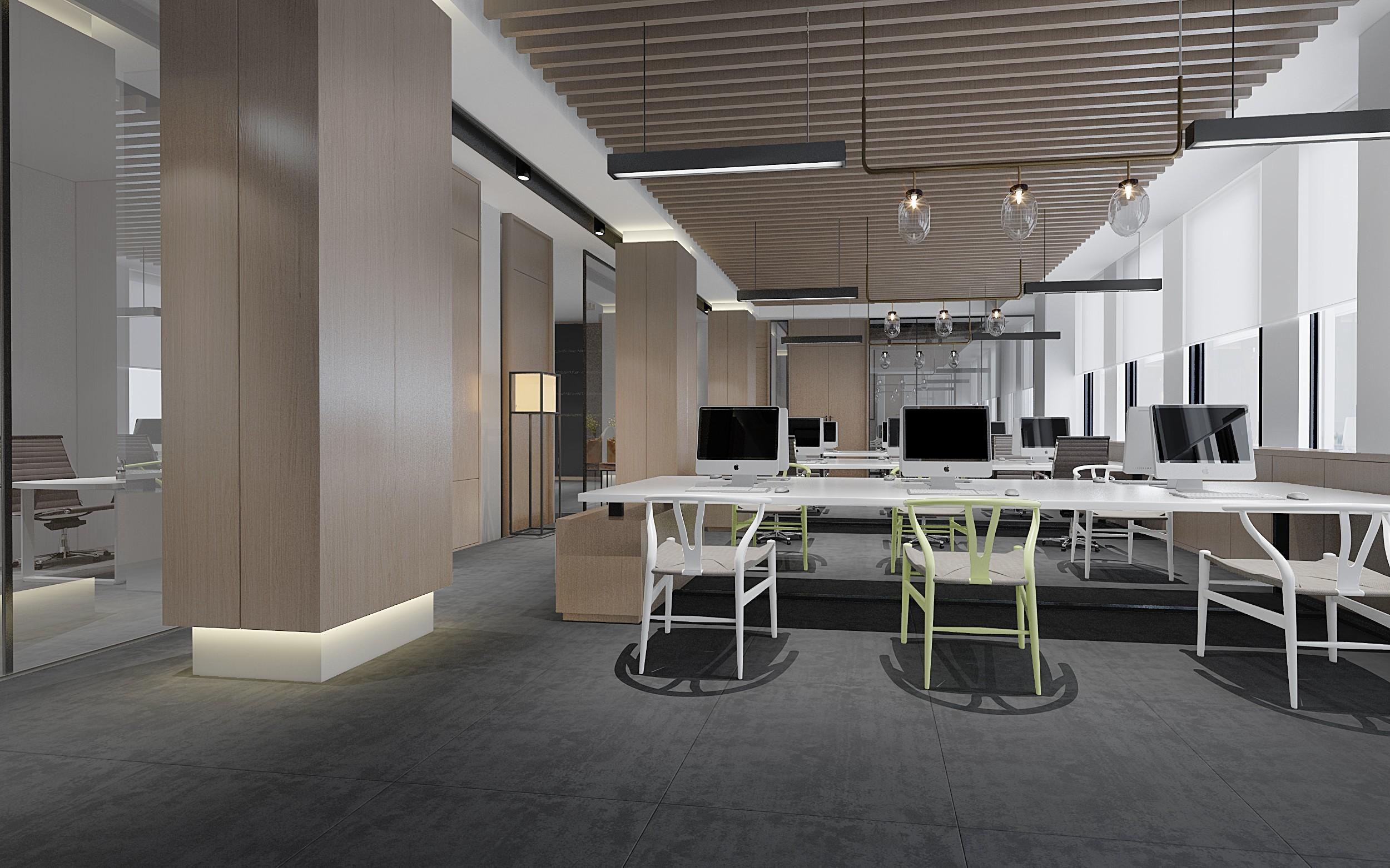 办公室装饰设计公司效果图