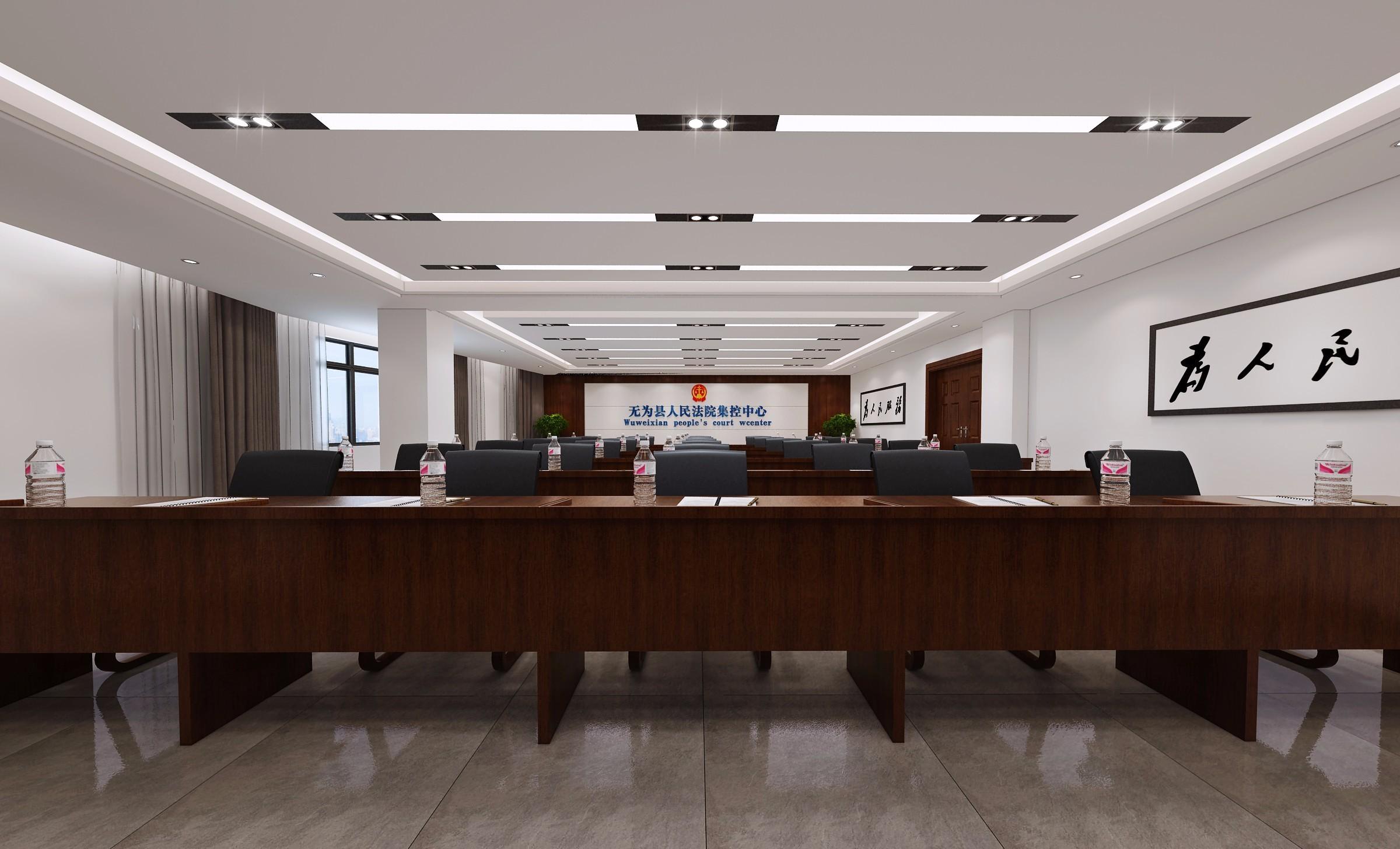 政府机关办公室装修效果图