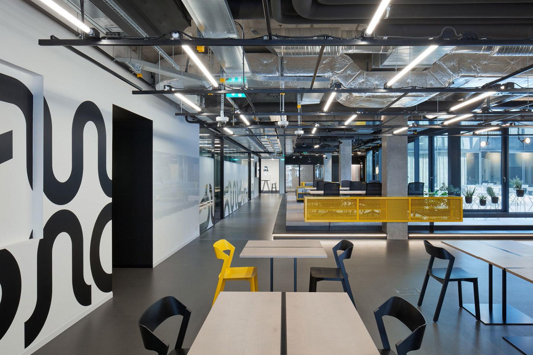 创业孵化园办公空间装修案例
