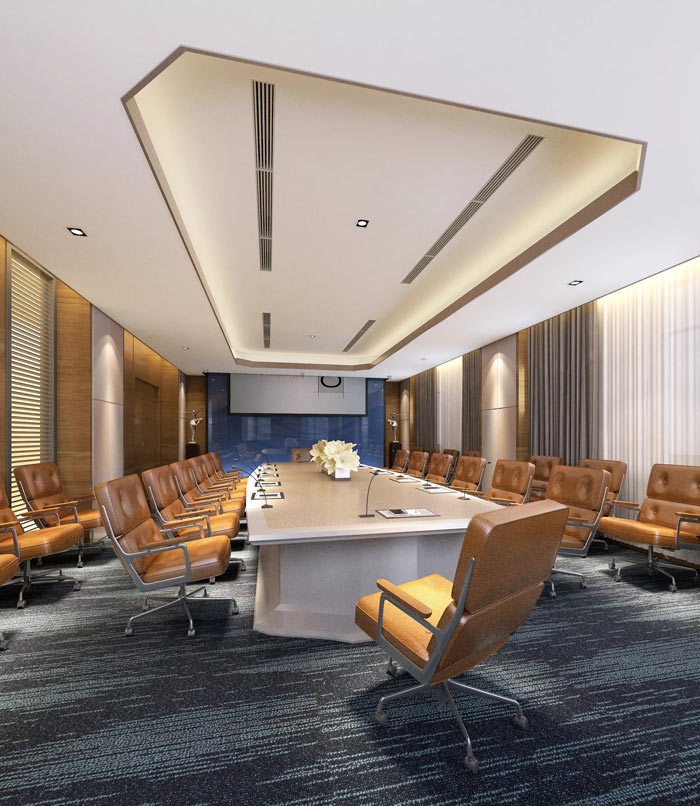 政府办公室装修设计效果图