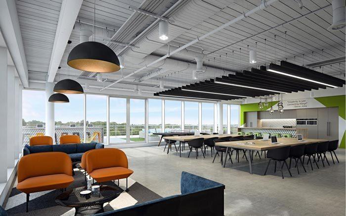 商业园办公室装修设计欣赏
