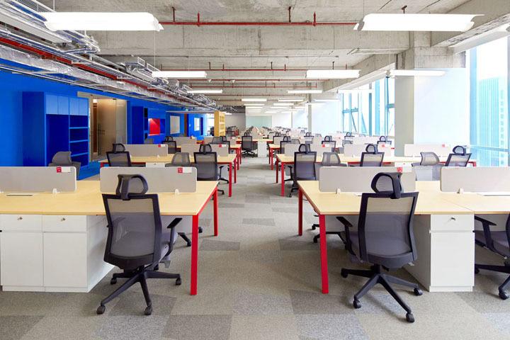 网络科技办公室设计案例