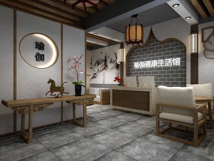重庆瑜伽馆装修设计