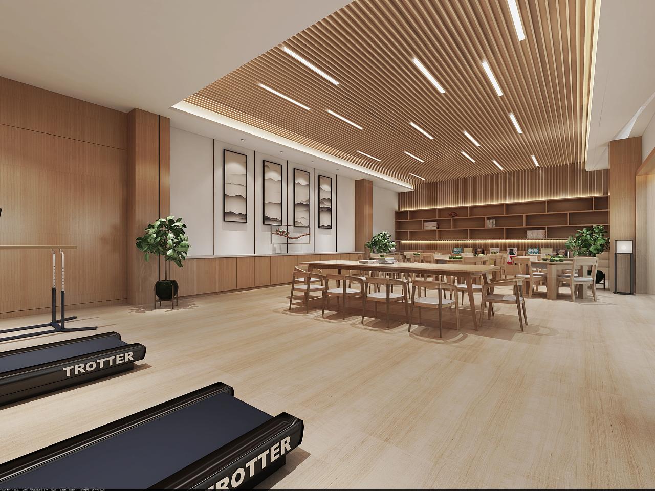 重庆医院养老院设计效果图赏析