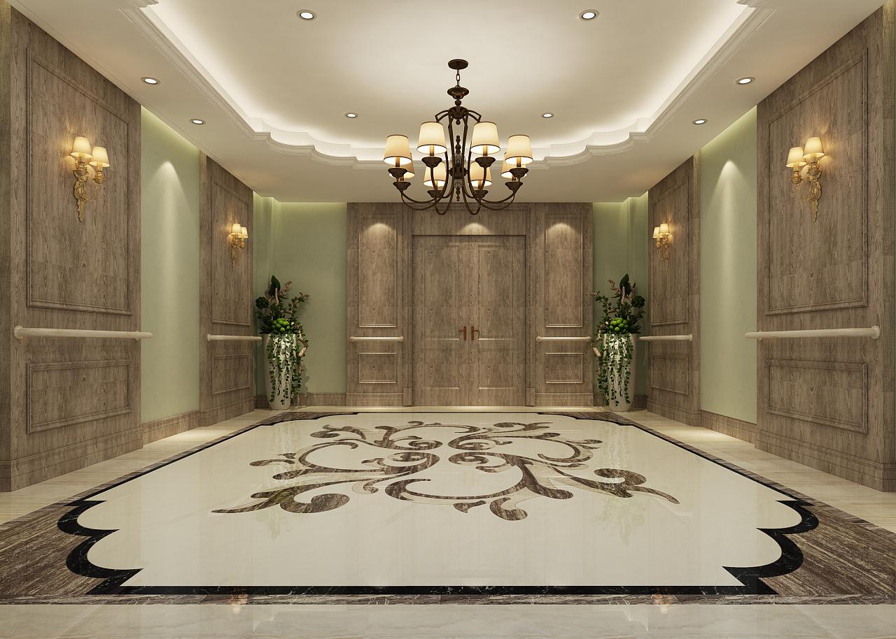 重庆老年公寓效果图赏析