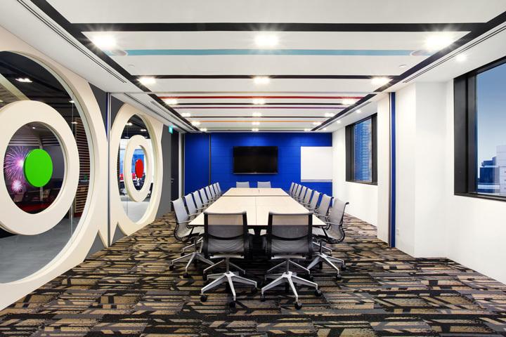 重庆旅游公司办公室装修效果图