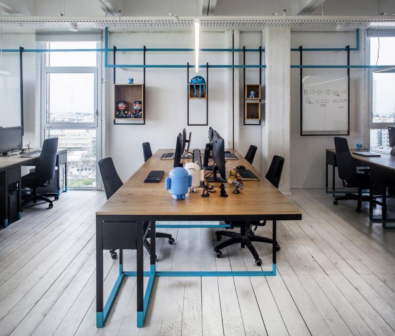 重庆游戏公司办公室装修效果图赏析