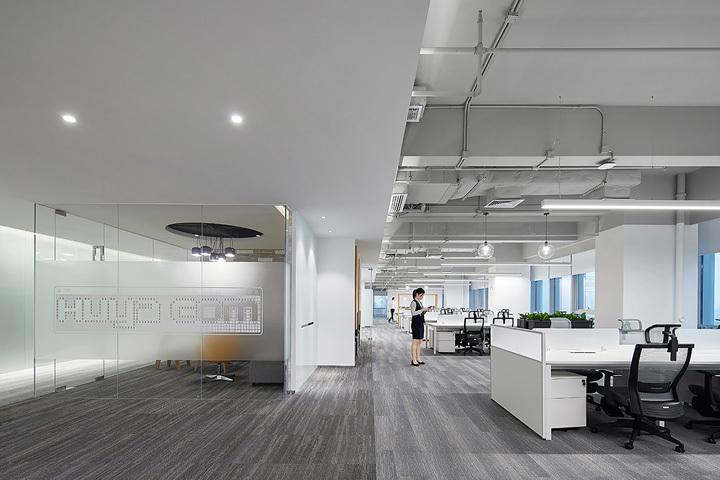 重庆科技感游戏公司办公室设计效果图赏析