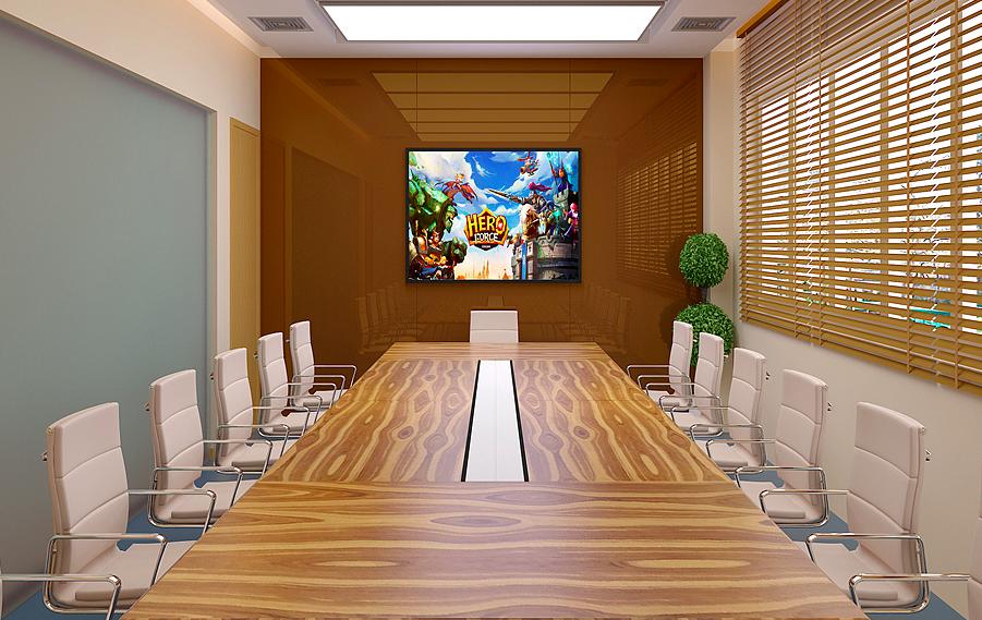 重庆游戏公司办公室装修设计赏析