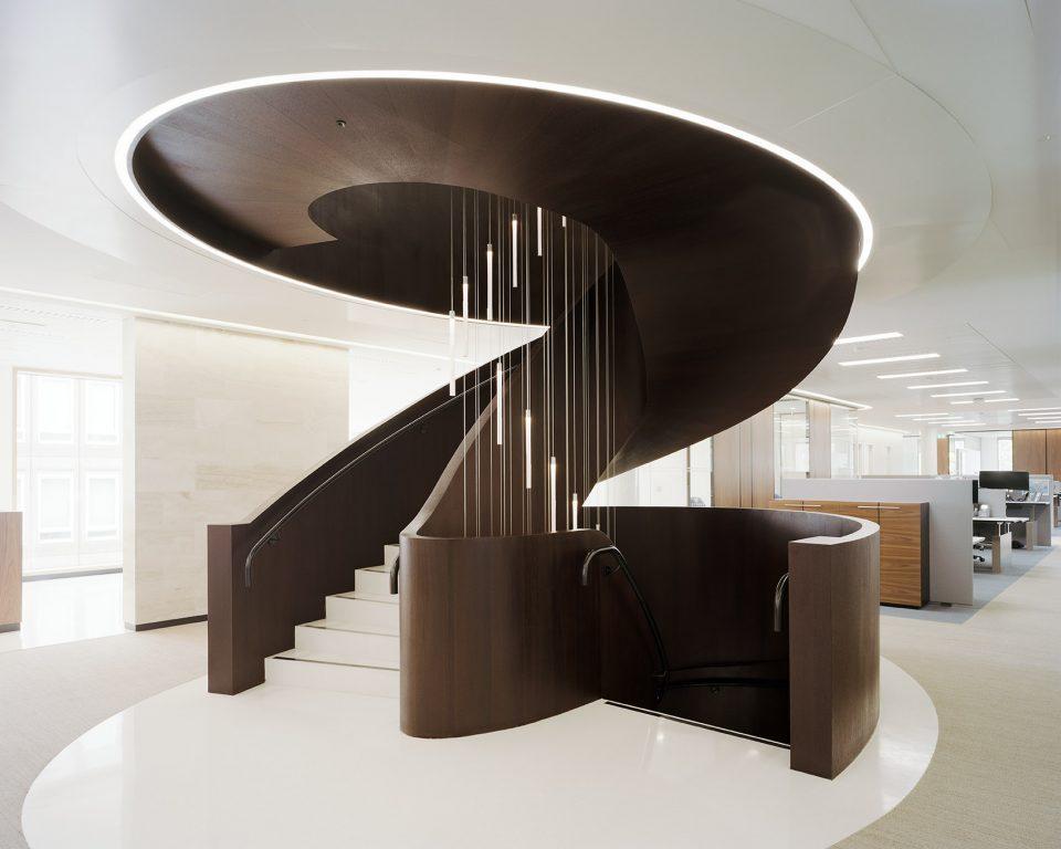 重庆办公室高档楼梯图赏析