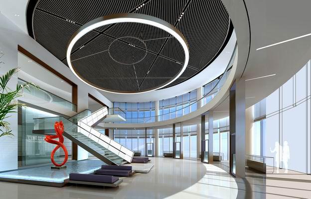 重庆办公室高档旋转楼梯参考图集