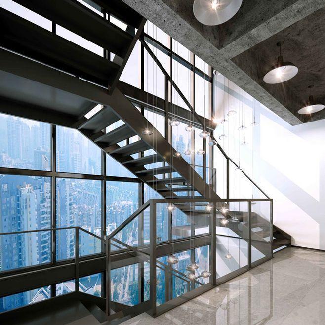 重庆办公室楼梯图参考集
