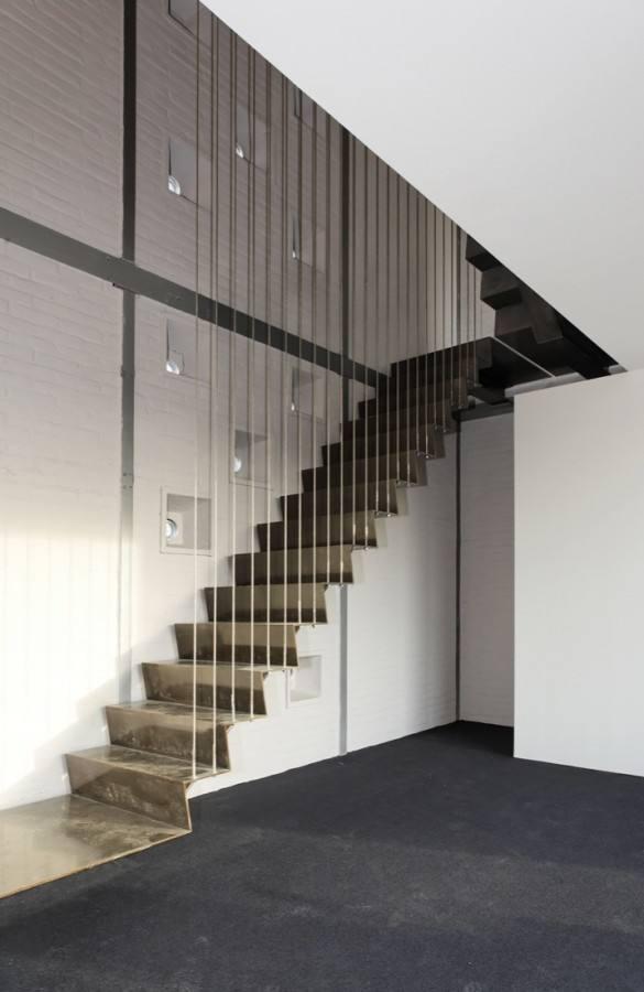 最好看的水泥楼梯效果图