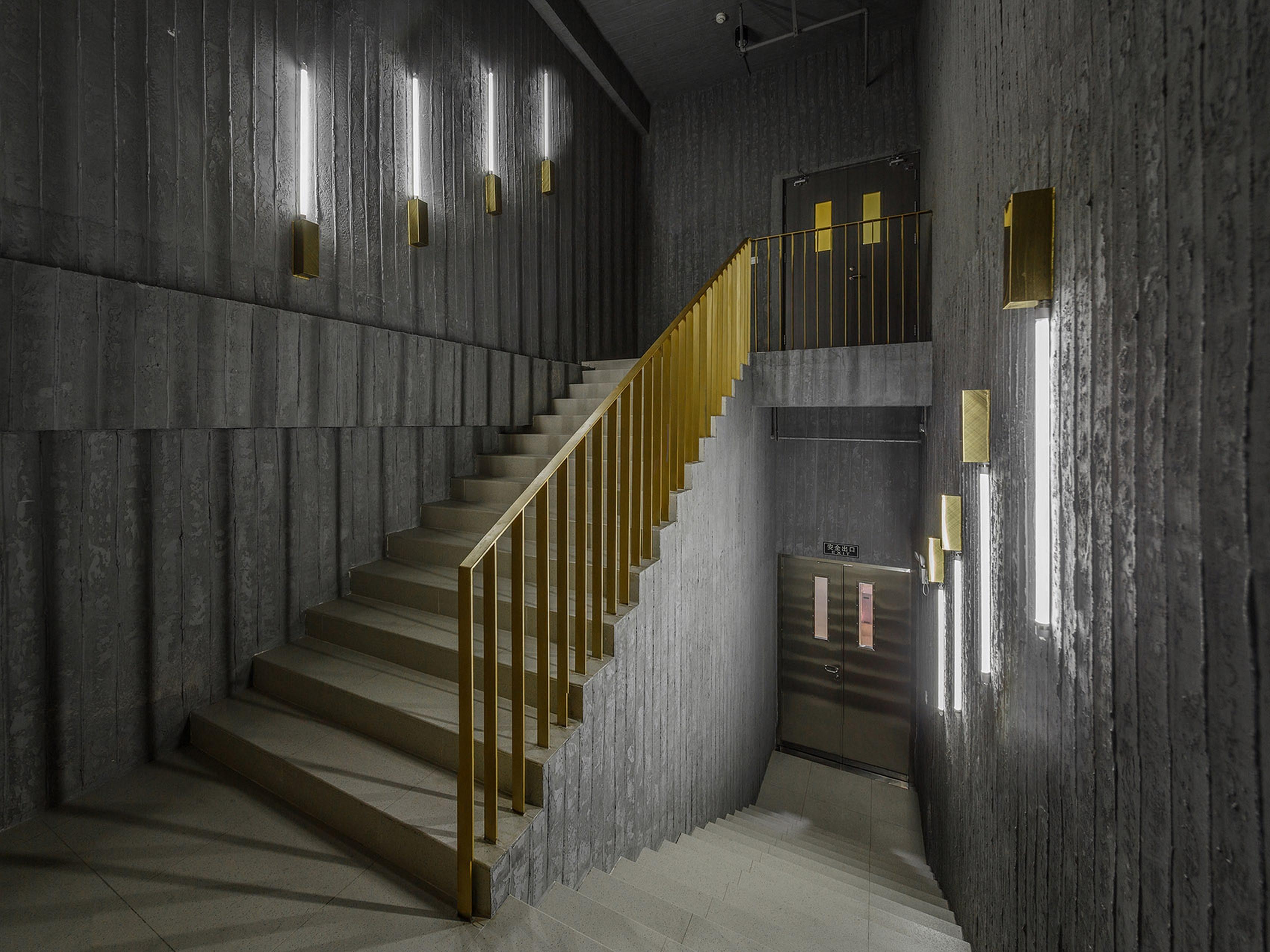 创业园科技园区楼梯效果图参考