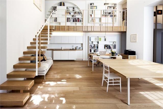 办公室木楼梯图集