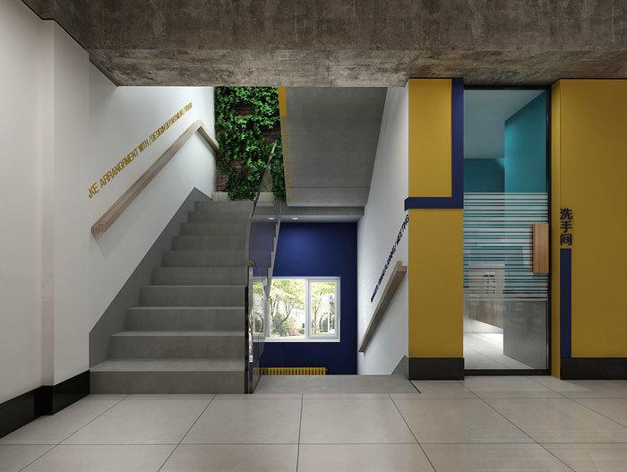 厂房楼梯效果图参考
