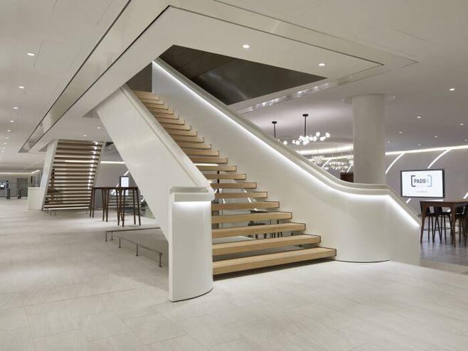 辦公室樓梯效果圖集賞析