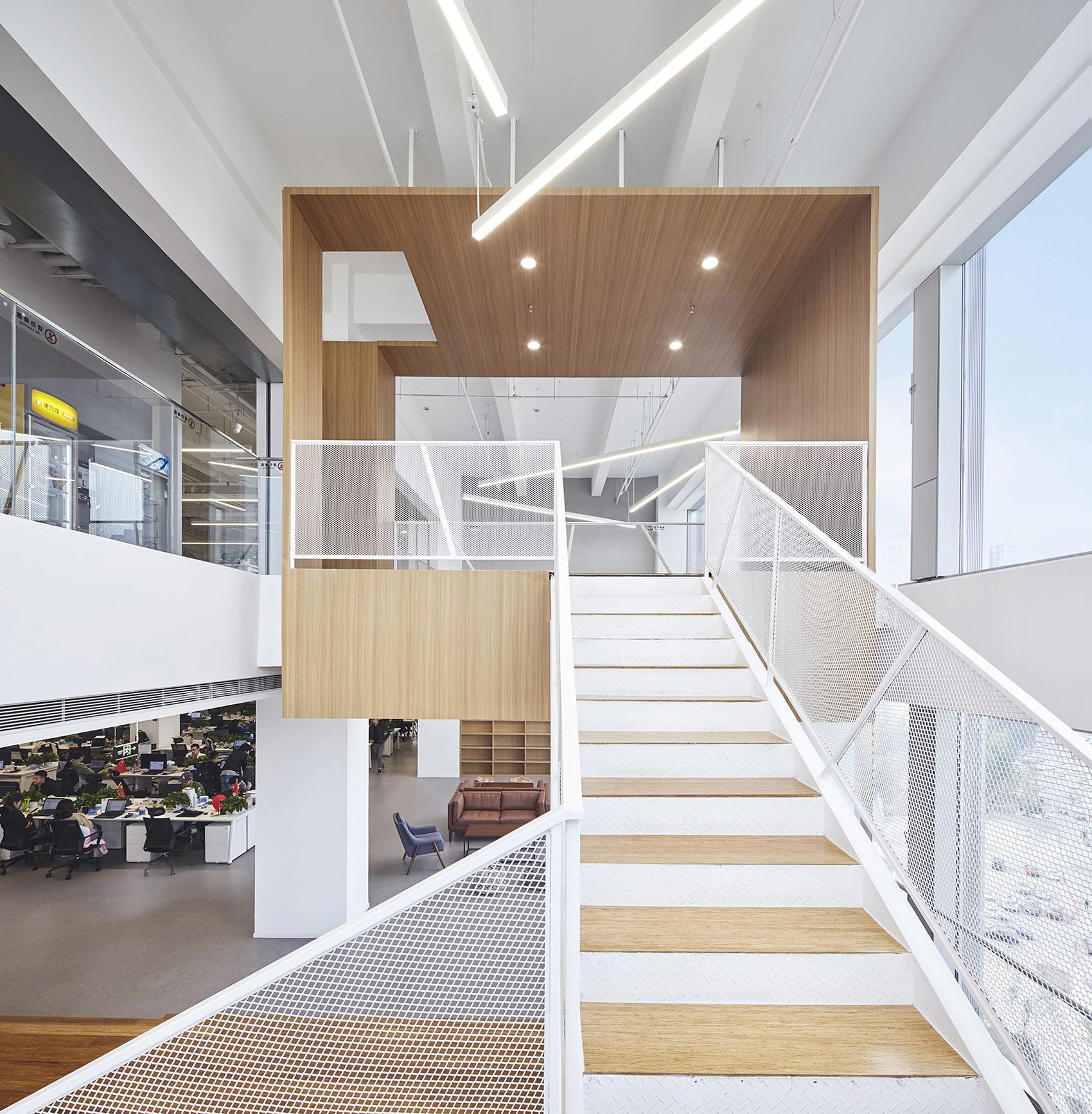 办公室楼梯效果图集赏析
