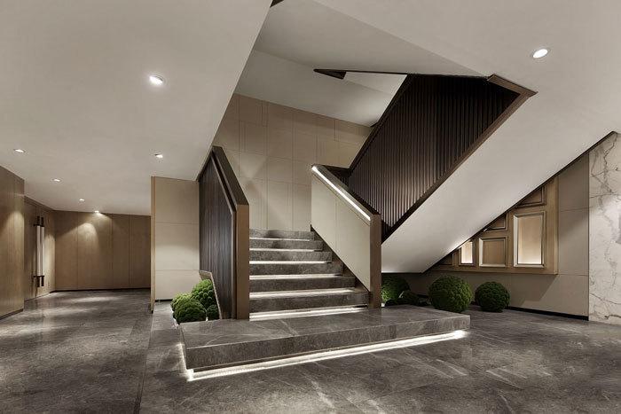 办公室楼梯效果图集