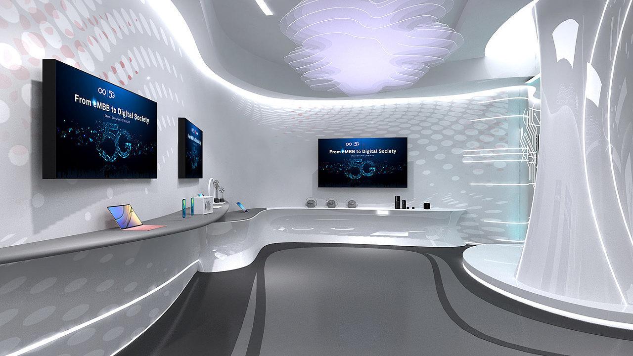 重庆智能科技展厅设计效果图赏析