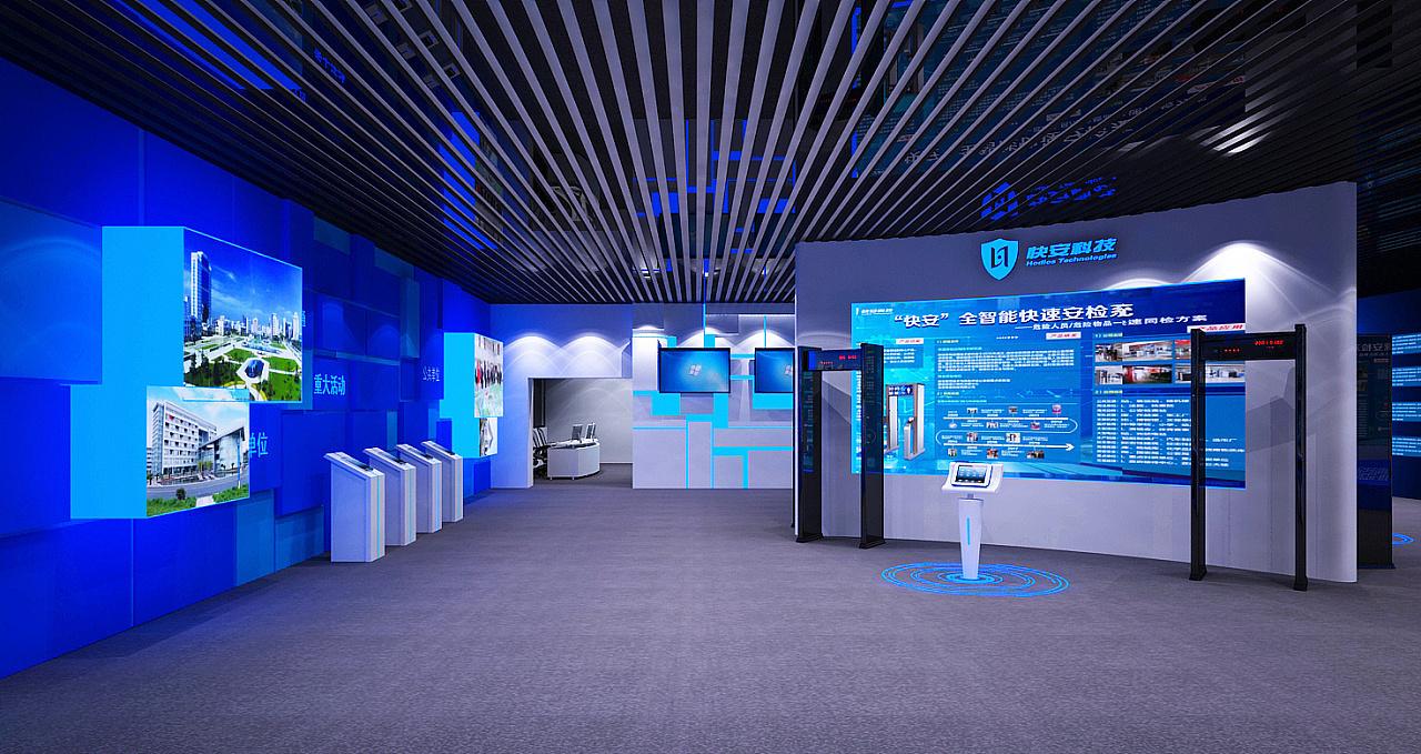 重庆企业展厅科技展厅赏析