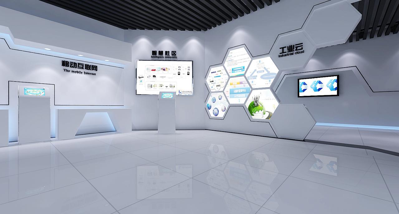 重庆智能展厅效果图赏析