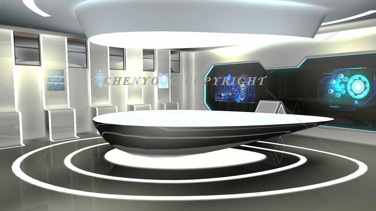 科技展厅设计效果图赏析