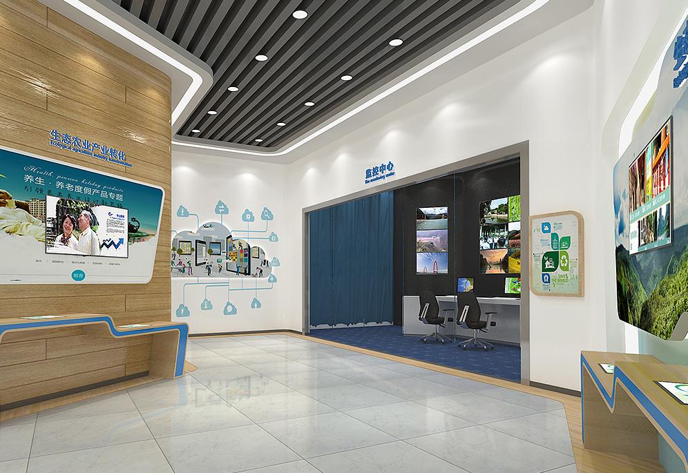 重庆生态展厅装修设计效果图赏析