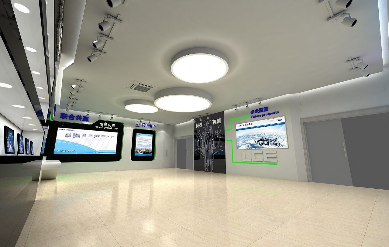 重庆科技展厅装修设计赏析