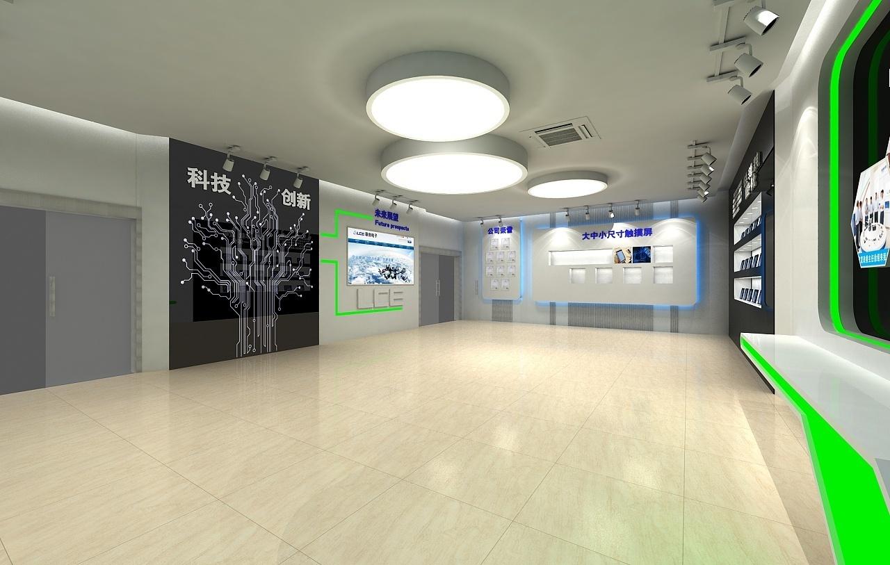 重庆科技展厅装修效果图赏析