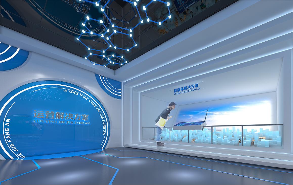 重庆医疗科技展厅装修效果图赏析