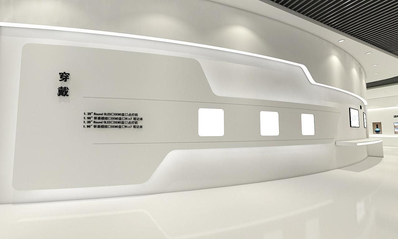 重庆科技展厅装修设计效果图赏析