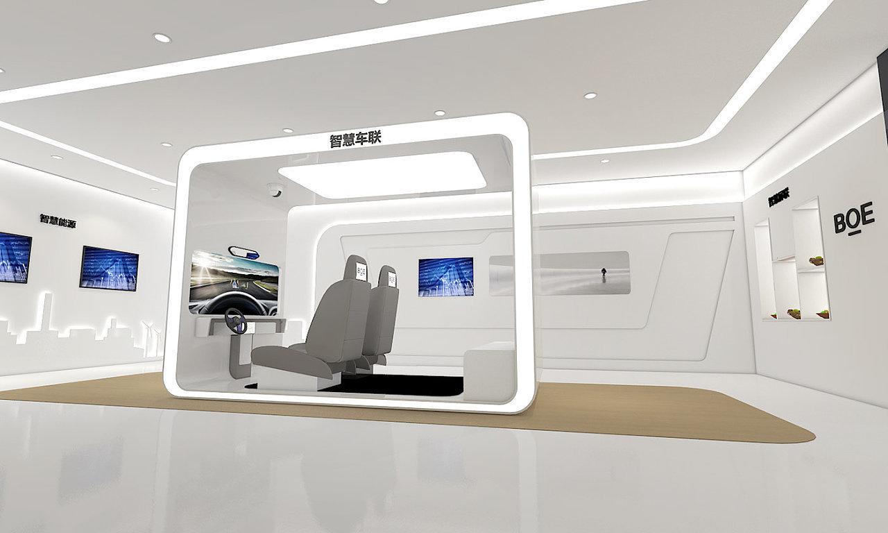 重庆简约科技展厅设计赏析