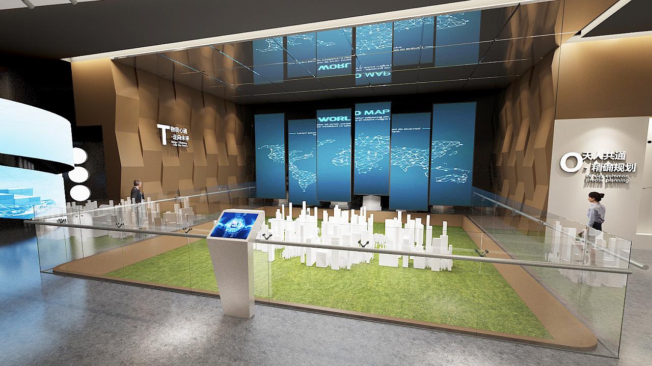 重庆物流体验馆设计效果图赏析