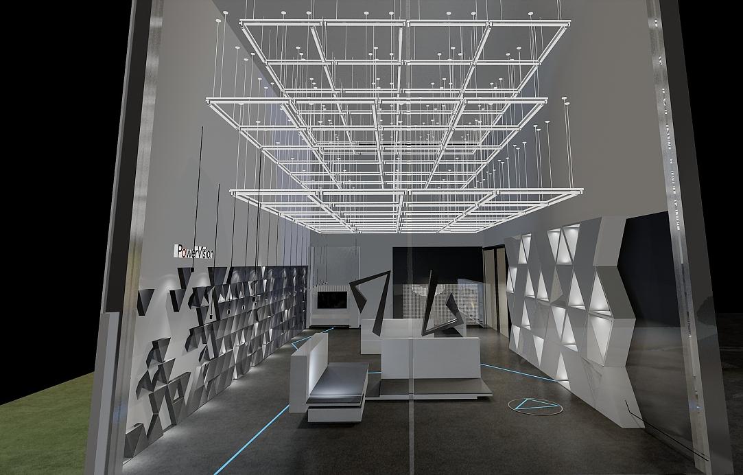 无人机展厅装修设计效果图