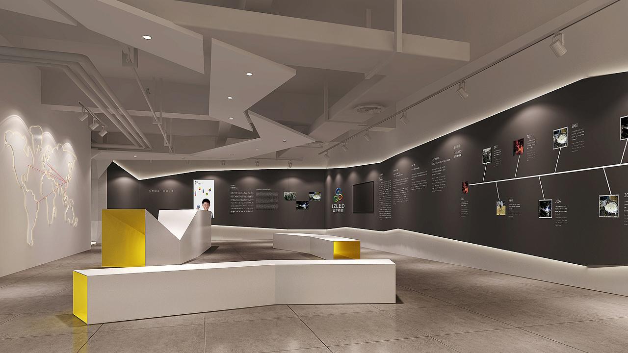 重庆照明展厅装修设计效果图赏析
