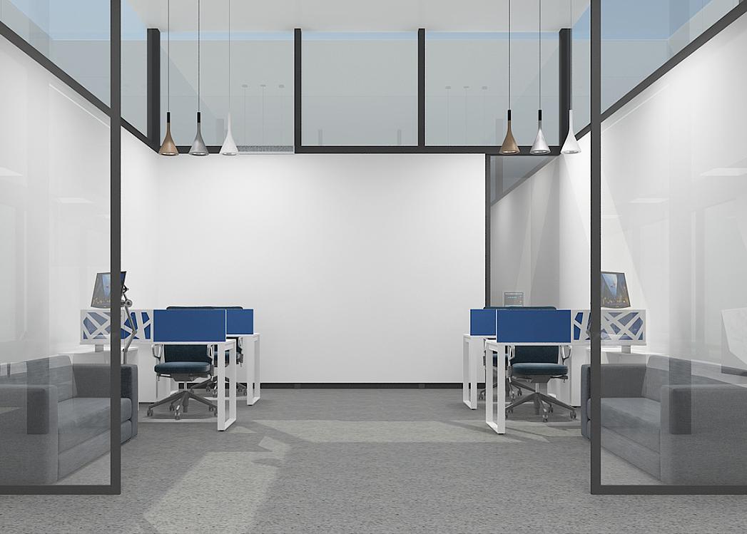 重庆智慧门诊展厅设计效果图