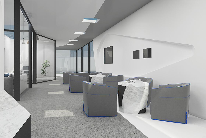 重庆门诊展厅装修设计效果图赏析