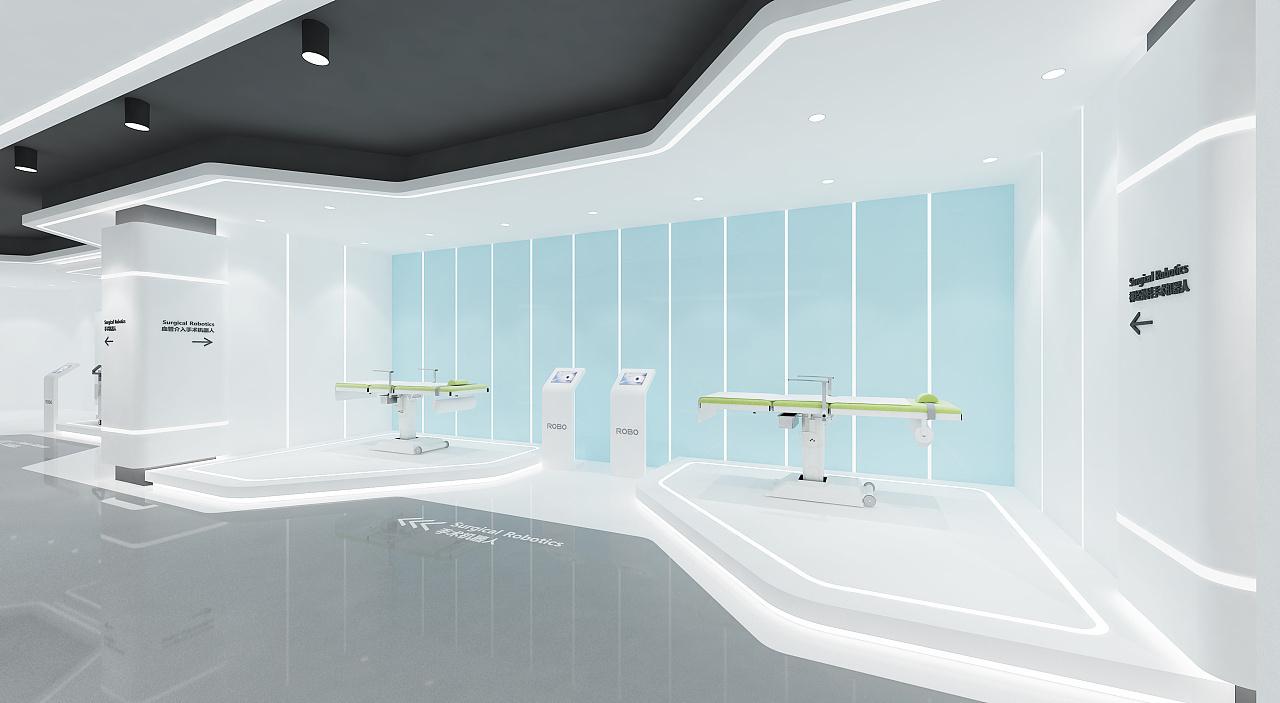 医疗机器人展厅装修设计效果图赏析