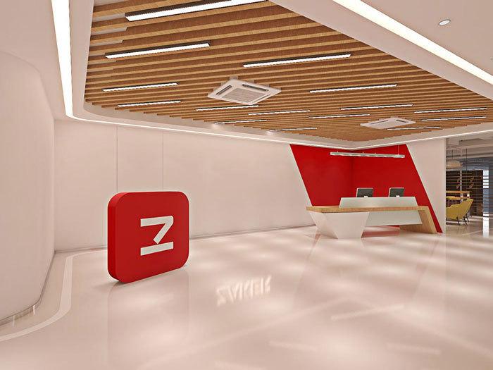 重庆网络科技公司办公室装修设计效果图赏析