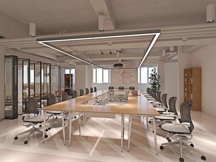 重庆公装公司办公室装修设计效果图赏析