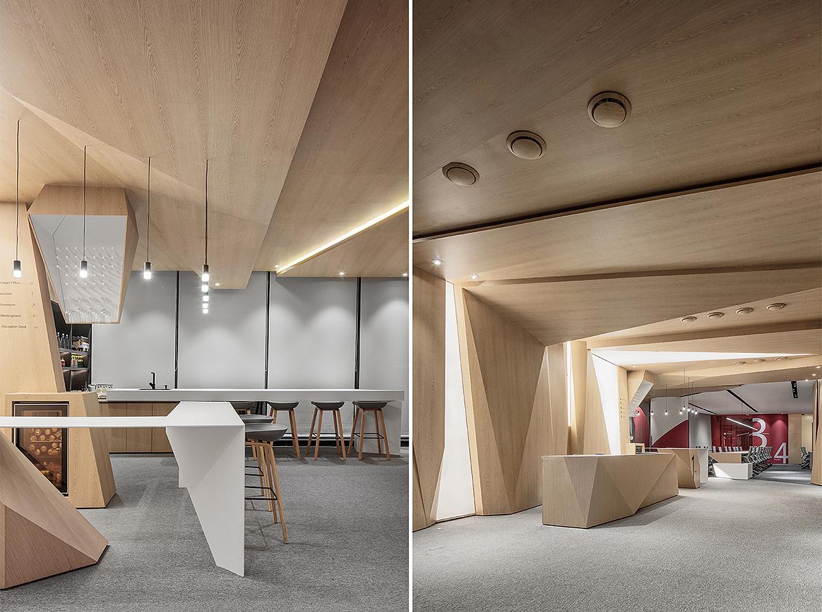 重庆科技办公室装修设计效果图赏析