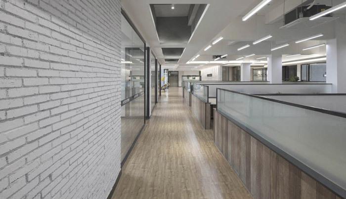 重庆工厂办公室装修设计效果图赏析