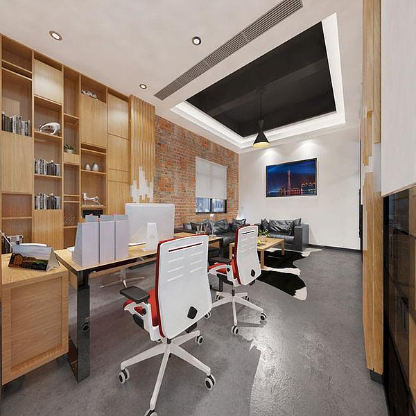 重庆loft风格厂房装修设计赏析