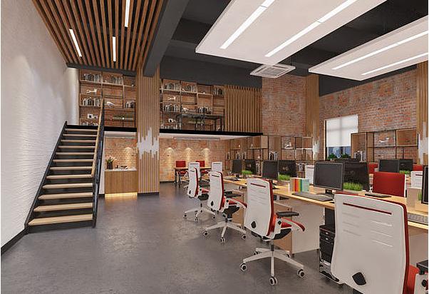 重庆loft风格厂房装修设计效果图赏析