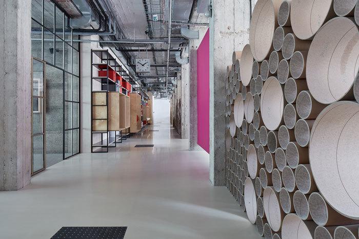 重庆工厂办公室改造装修效果图赏析